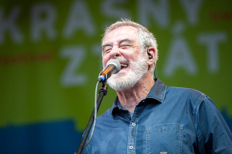 Michal Prokop na 1. ročníku festivalu Krásný ztráty. Foto Kryštof Kalina