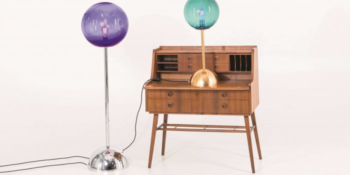 SUPER LOLLIPOP LAMP By DORIS DARLING