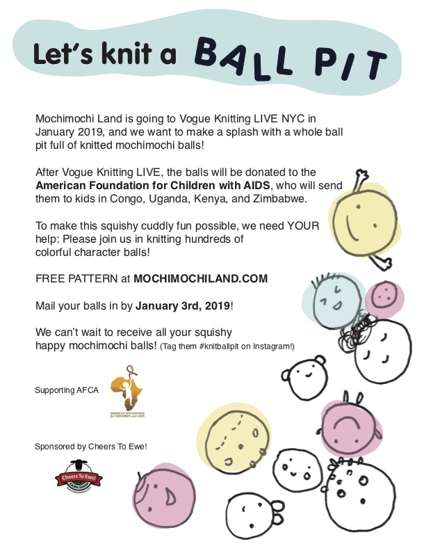 Call For Knitters: Knit A Ball Pit