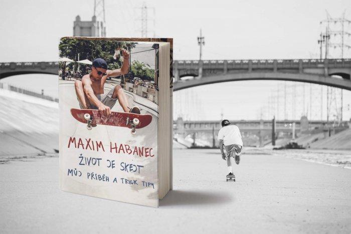 Skejťák Max Habanec Vydává Knihu