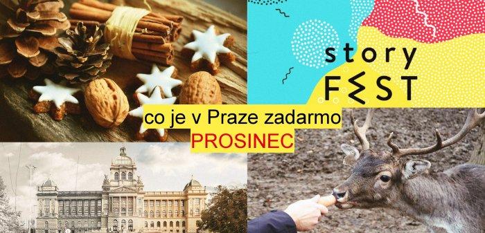 Co Je V Praze Zadarmo V Prosinci