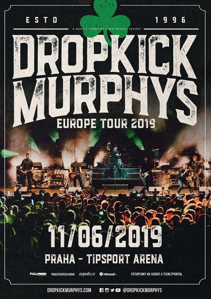 Dropkick Murphys Se Představí V červnu V Tipsport Areně