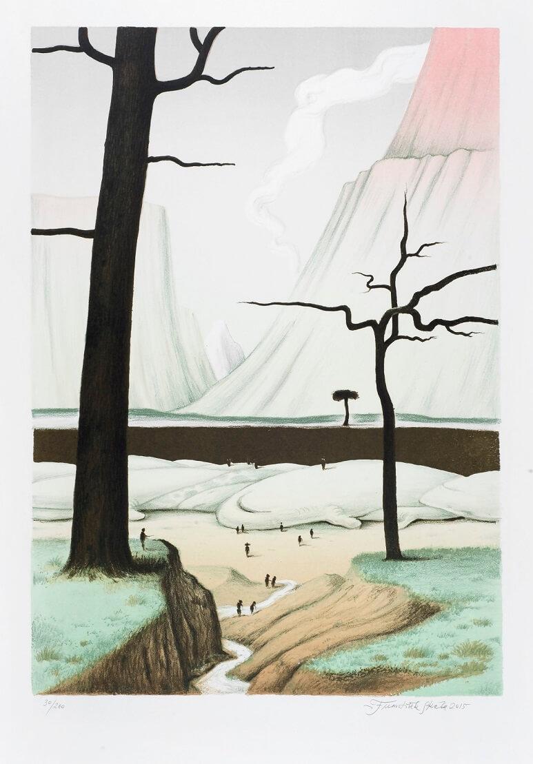 Autor grafiky František Skála - foto Skutečný dárek