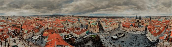 Gigapanorama Prahy Je Dostupné Online