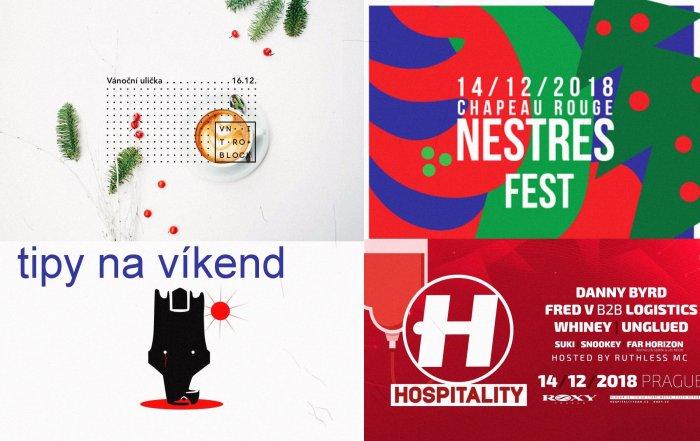 Tipy Na Víkend 14. -16. 12. 2018