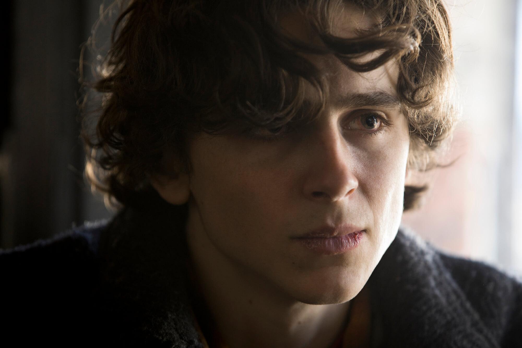 Timothée Chalamet stars as Nic Scheff in BEAUTIFUL BOY