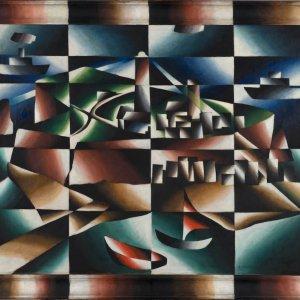 Arthur Segal, Helgoland, 1923 © Urheberrechte am Werk erloschen Repro: Kai-Annett Becker