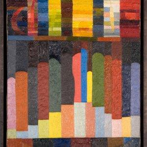 Otto Freundlich, Komposition, 1926  © Urheberrechte am Werk erloschen, Repro: Kai-Annett Becker