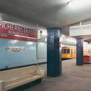 Bruno Grimmek, Spichernstraße, um 1957, Berlinische Galerie © Rudolf Foto-Kessler