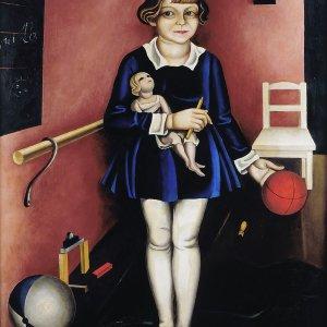 Issai Kulvianski, Mein Töchterchen Kiki, 1927, Berlinische Galerie  © Nachlass Kulvianski, Berlinische Galerie, Berlin