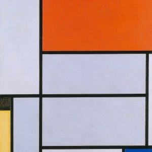 Piet Mondrian, Tableau I, 1921 © Rheinisches Bildarchiv, rba_c008798