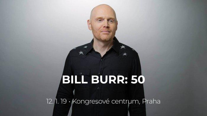 Report: Americký Komik Bill Burr V Kongresovém Centru