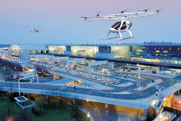 Volocopter Port, Air Taxi Service… Promising Future Of The  Urban Aerial Mobility