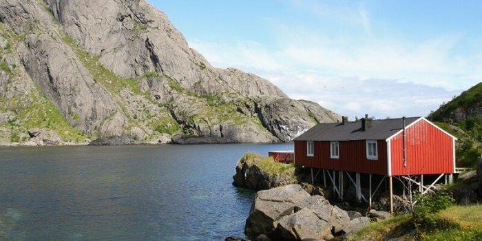 Fjord V Severním Norsku. Foto: Harri Ahonen