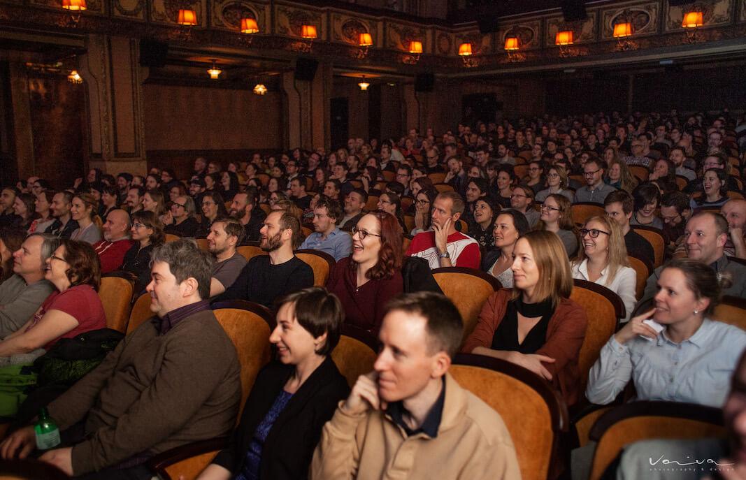 Kino Lucerna - projekce filmu Heavy Trip - foto SF Klub