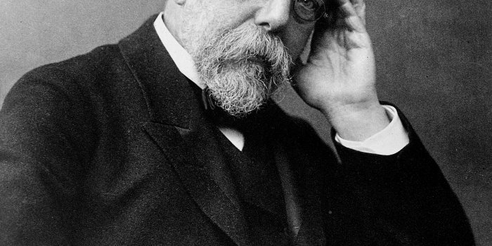 Robert Koch. Foto: Wilhelm Fechner [Public Domain], Via Wikimedia Commons