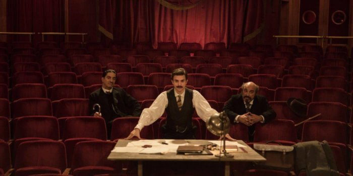 Thomas Solivérès V Zahajovacím Filmu Edmond. Zdroj: DEF