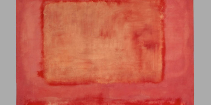 Mark Rothko (1903-1970) No. 16 (Red, White And Brown) 1957 Öl Auf Leinwand 252,2 × 207 Cm © 1998 Kate Rothko Prizel & Christopher Rothko/Bildrecht, Wien, 2019 © Foto: Kunstmuseum Basel