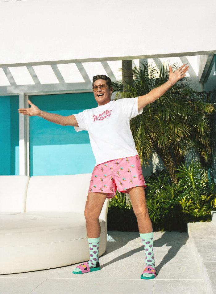 Happy Socks: Plavky (a Spolupráce S Davidem Hasselhoffem!)