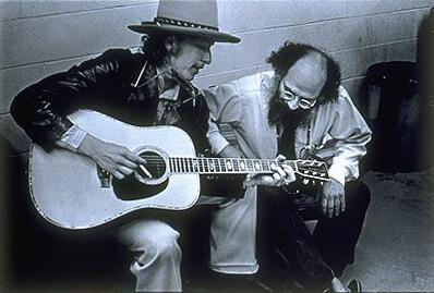 Ilustrační Foto: Allen Ginsberg And Bob Dylan (1975) By  Elsa Dorfman [CC BY-SA 3.0], Via Wikimedia Commons