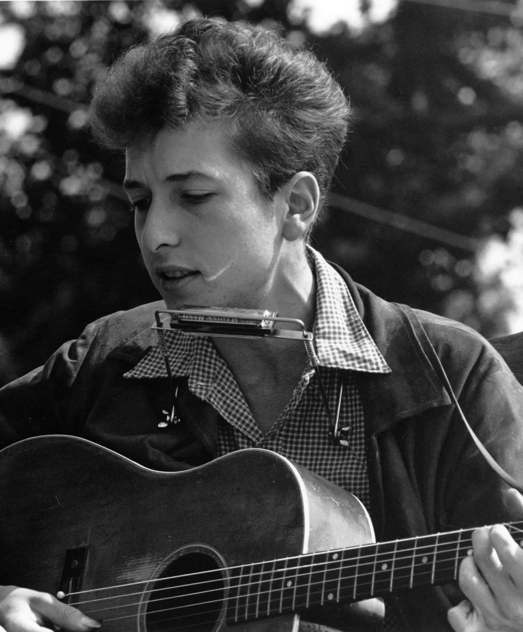 Ilustrační foto: Bob Dylan v roce 1963. Autor: <a href=