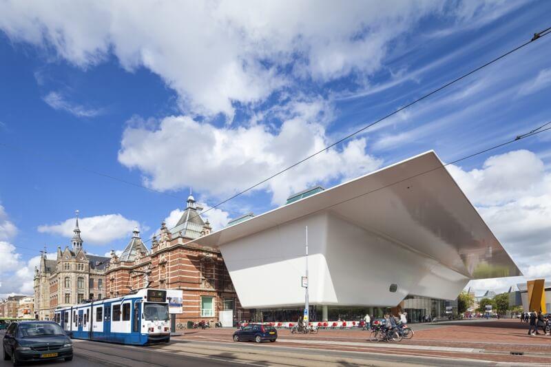 Benthem Crouwel Architekten Amsterdam; Stedelijk Museum Amsterdam