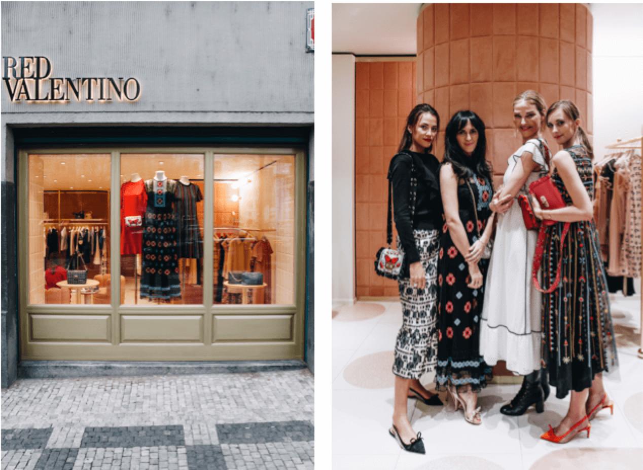 Opening RED Valentino