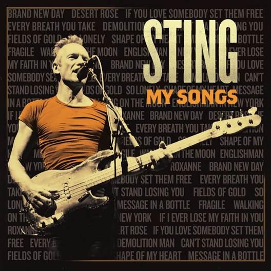 Sting Vydává Kompilační Desku My Songs
