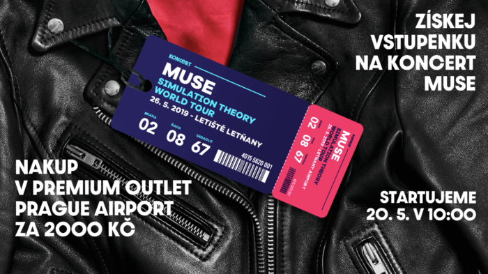 Nakupte V POP Airport A Získejte Lístek Na Koncert Muse