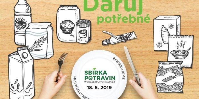 Sbírka Potravin 18. 5. 2019