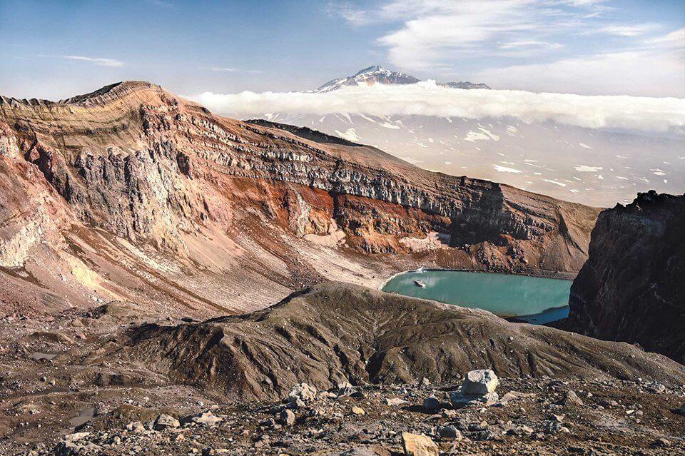 Sopka Gorelji - foto Kirill Umrikhin / Nikon