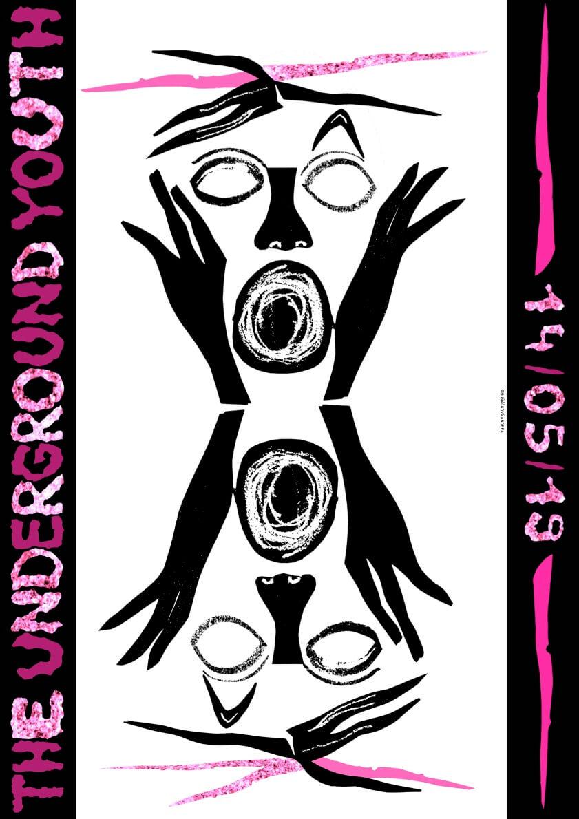 The Underground Youth - plakát Andrea Huňáčková