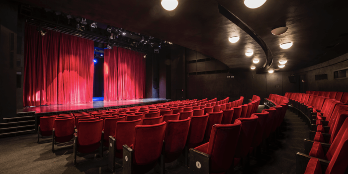 Interiér Divadla Kolefie. Foto Michael Tomeš