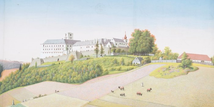 Johann Dittman, Zámek Mírov, 1822, Kvaš, Arcibiskupství Olomoucké