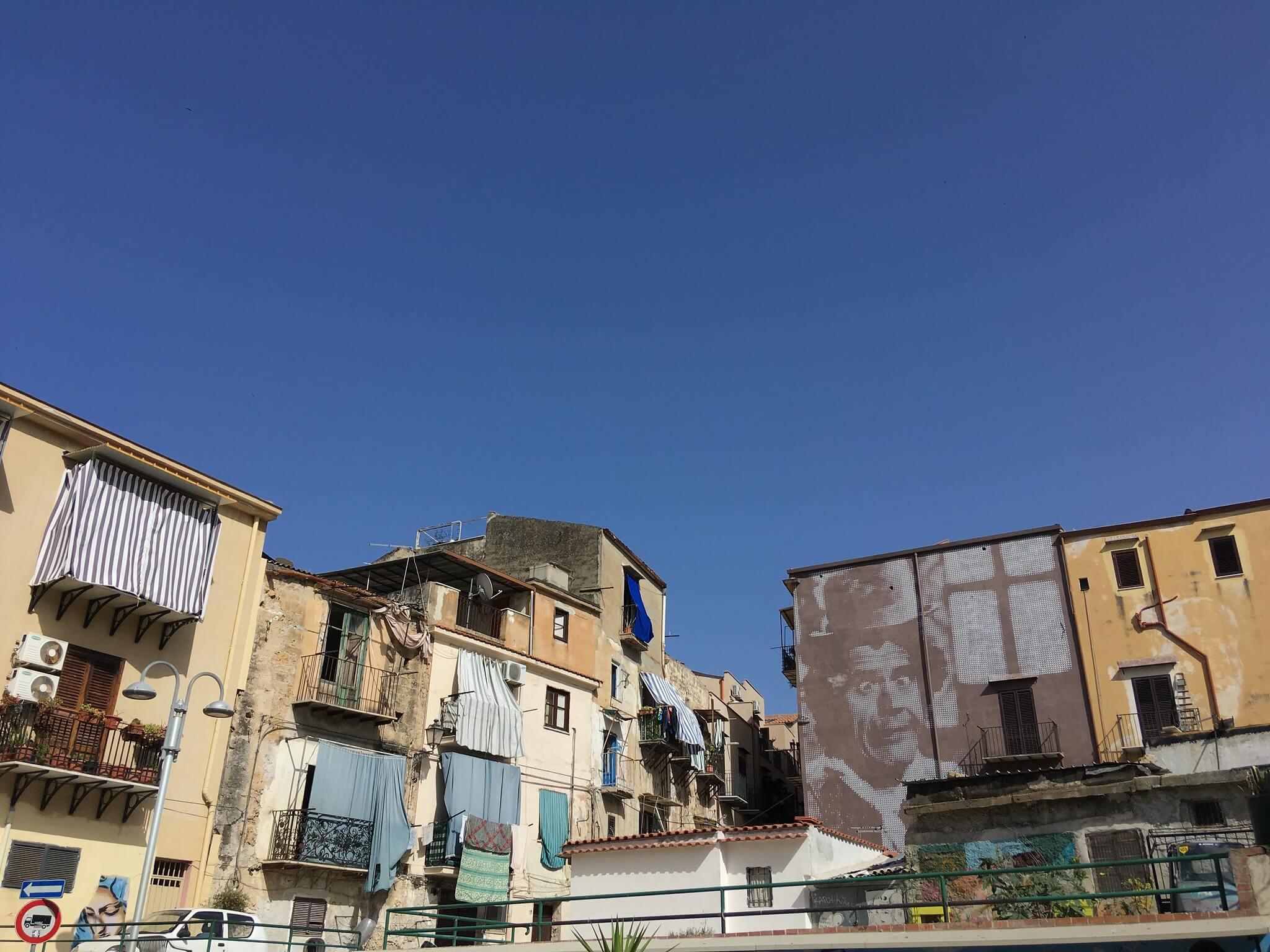 Typický pohled do městské zástavby