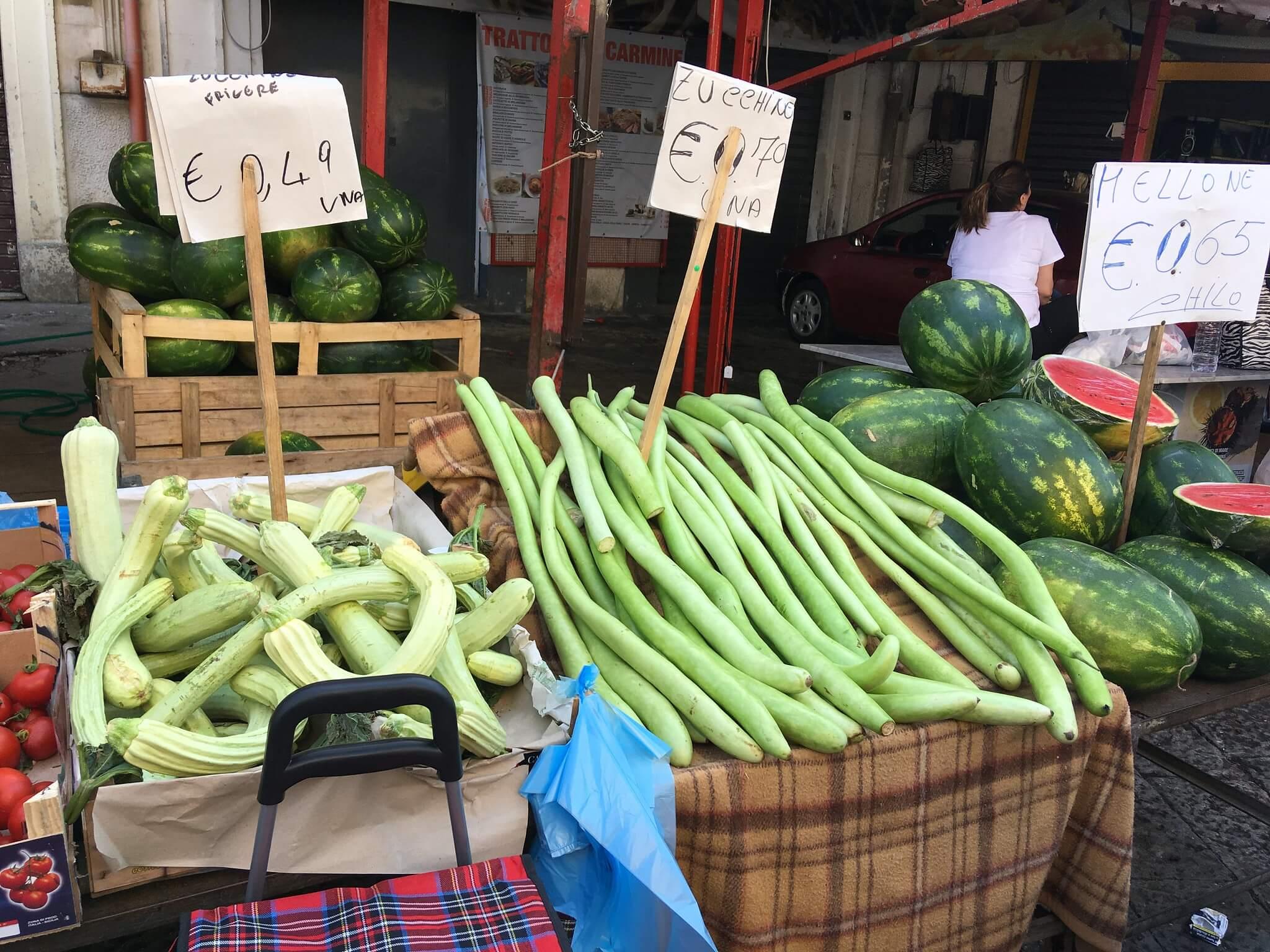 Trh v Palermu