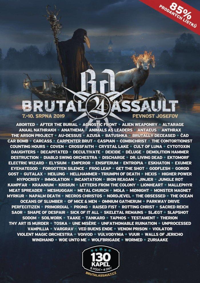 Finální Update Kapel Pro Brutal Assault!
