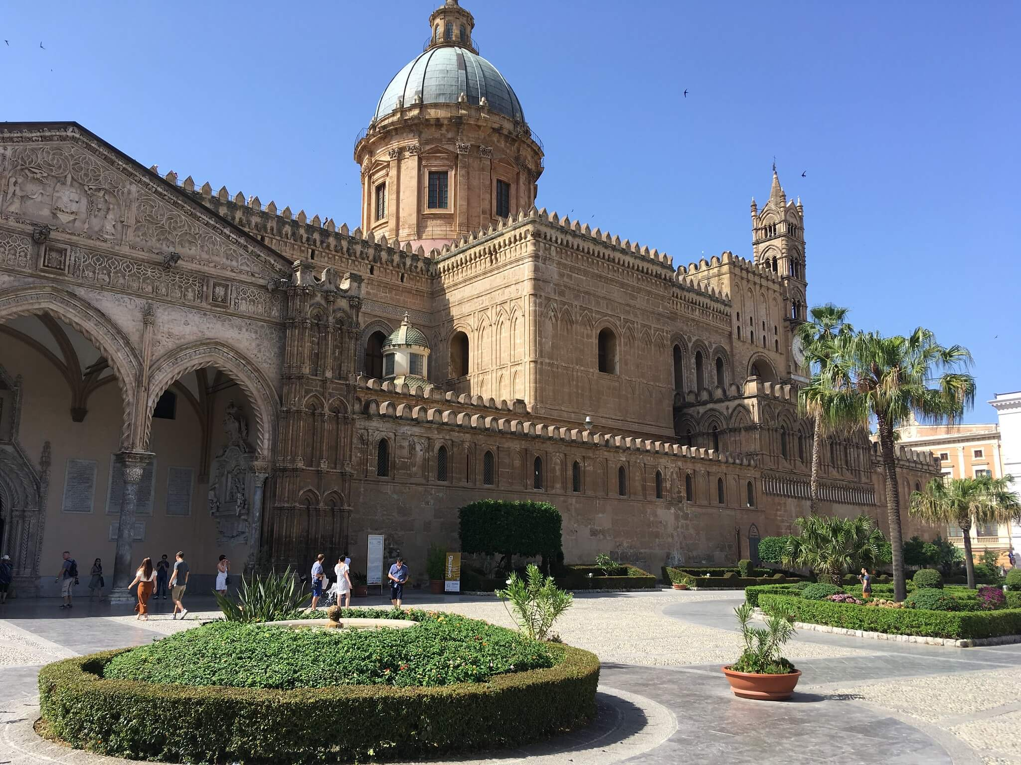 Slavná palermská katedrála, foto jk