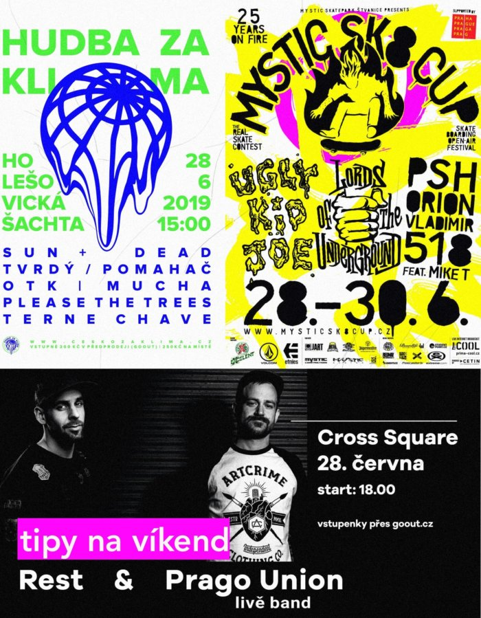 Tipy Na Víkend 28. – 30. 6.: Mystic Sk8 Cup, Výstavy, Vary A Další Festivaly