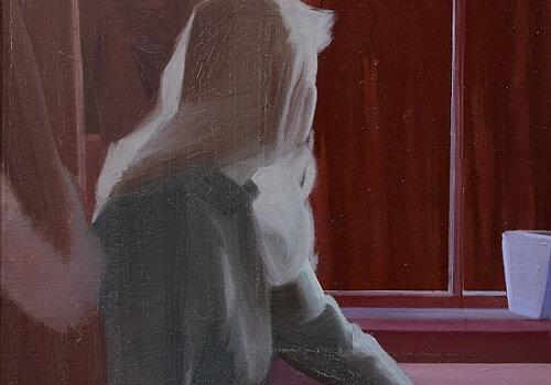 Místo, 2019, Olej Na Plátně, 75 X 65 Cm. Foto Galerie Vyšehrad