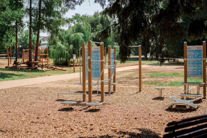 Výstaviště Otevírá  Dětskou Lanovou Stezku I Fitness A Workout Hřiště