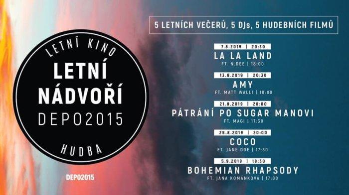 DEPO2015 Nabídne Letní Kino A DJe