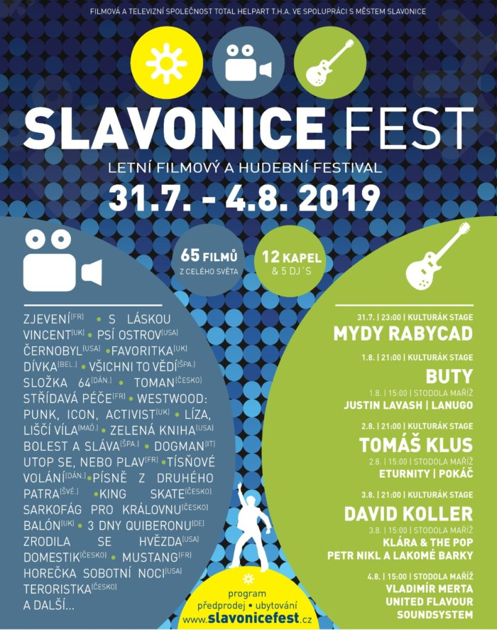 Festival SLAVONICE FEST Letos Spojí Filmy A Hudbu Už Pošesté