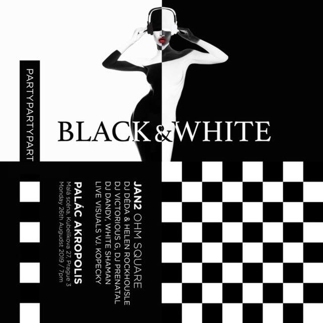Black & White Party V Akropoli Se Blíží