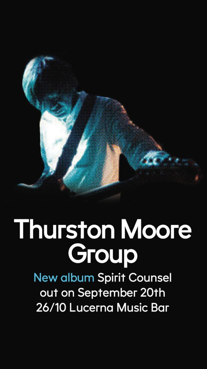 Zakladatel Sonic Youth Thurston Moore V Praze Představí Novinku