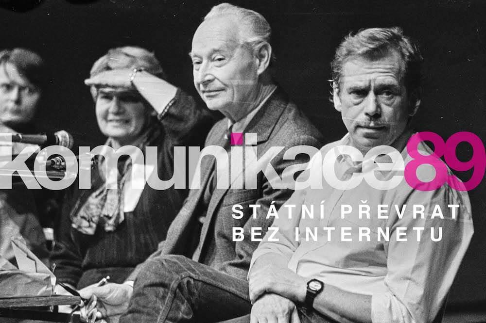 Komunikace 89 aneb státní převrat bez internetu (foto: Jaroslav Krejčí)