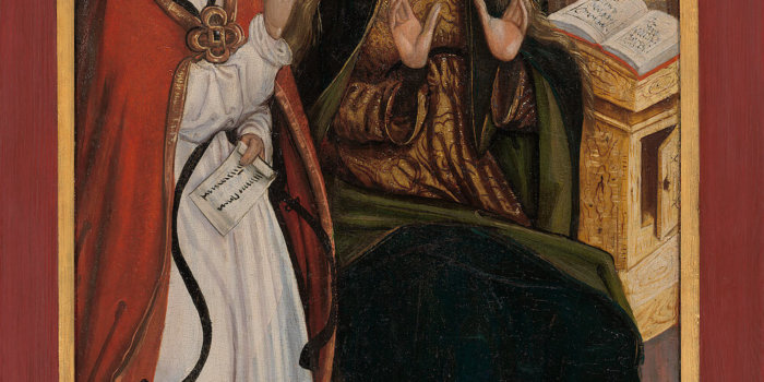 – Oltář Z Lubiny, Zvěstování Panně Marii, ŘKF Kopřivnice