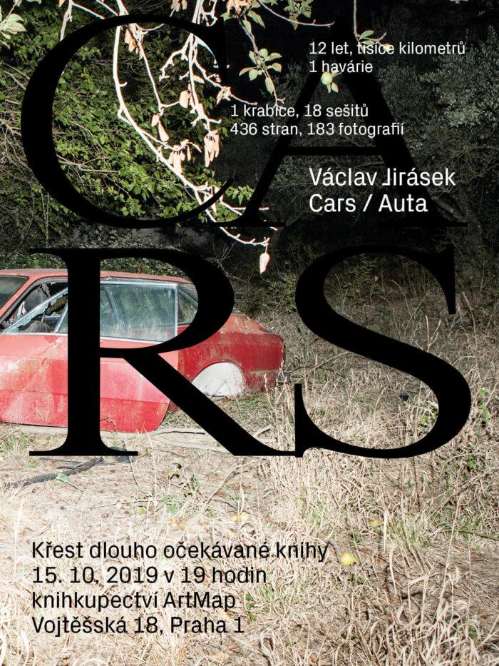 Václav Jirásek Vydává Autorskou Knihu Auta