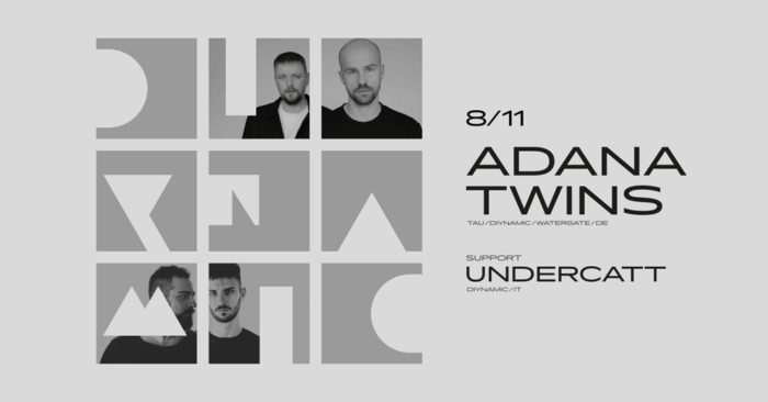 Adana Twins And Undercatt Will Perform In Prague