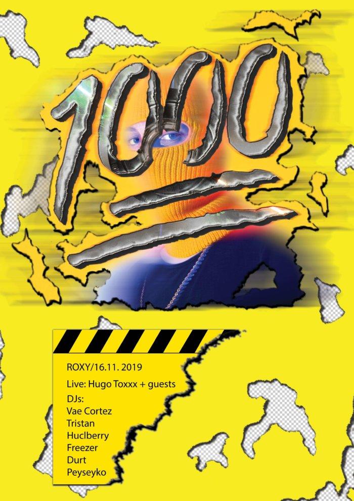 HUGO TOXXX Pokřtí Album